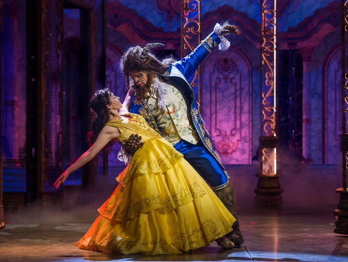A live musical version of 'Beauty and the Beast' is
