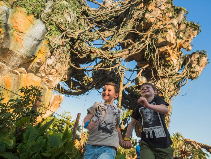 May 27, 2017: Disney's Animal Kingdom welcomed the