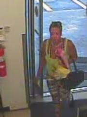 Larceny suspect of a stolen cell phone on July 5.