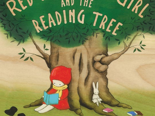 'Red Knit Cap Girl and the Reading Tree' is a picture