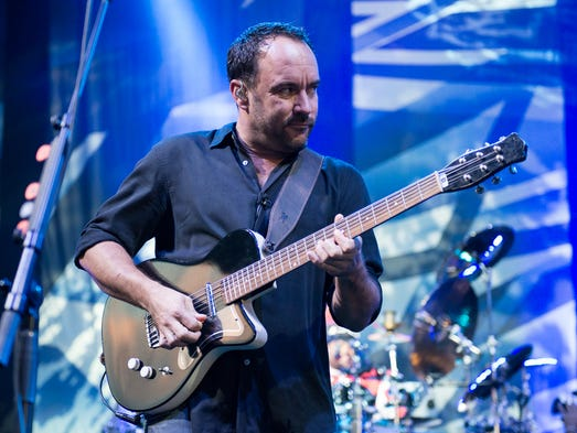 Dave Matthews Band performed at Riverbend on July 9th, 2014.
