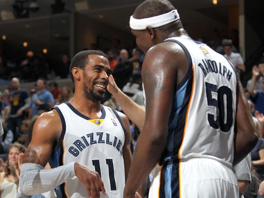 March 11, 2014 -  Memphis Grizzlies guard Mike Conley