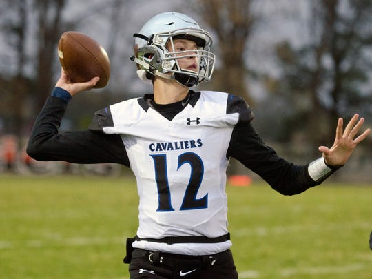 St. Thomas More sophomore Ryder Kirsch has thrown for over 1,800 yards and 27 touchdowns since taking over as starting quarterback.
