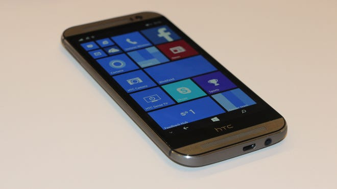 HTC produces a version of its flagship phone for Windows.