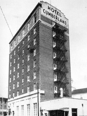 "The Cumberland Hotel was located at the corner of Commerce and Pearl streets from 1924 to 1971. The phone number was BRidgeton 9-1250. From ""Bridgeton, In and Around the Old Country Town,"" Arcadia Publishing."