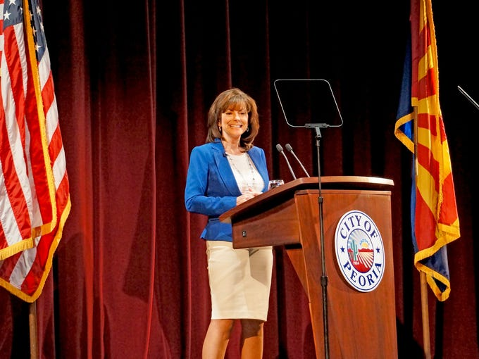 Newly elected Mayor Cathy Carlat laid out her vision