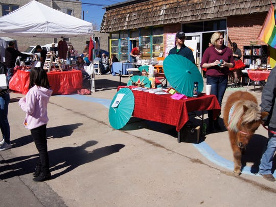 It Takes a Village in Silver City held an event on