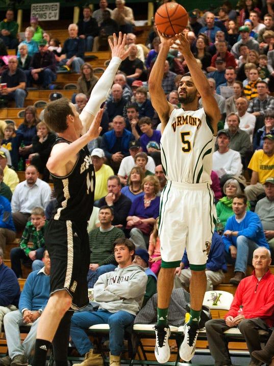 Bryant vs. Vermont Men's Basketball 11/26/14