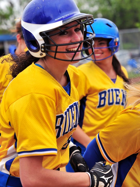 Buena vs Sacred Heart Softball