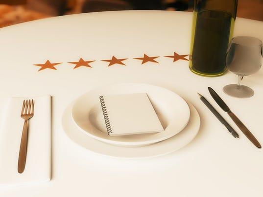 Restaurant critic file art