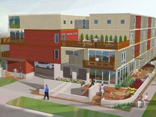 downriver homes and real estate shipping container condos