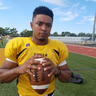 Rowan junior quarterback and Lawnside native Dante