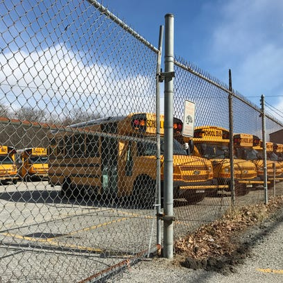 The West Milford school district's transportation depot