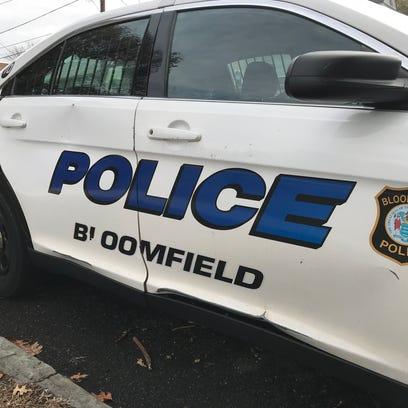 A Bloomfield police car