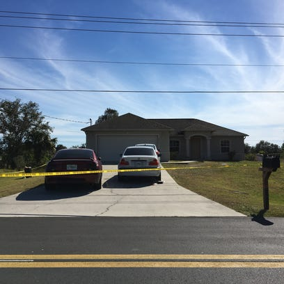 A double homicide was reported at a Lehigh Acres home