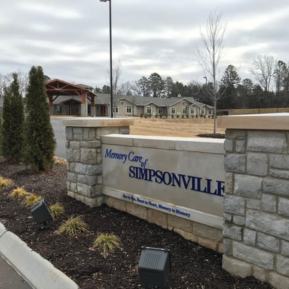 Memory Care of Simpsonville is expected to open in