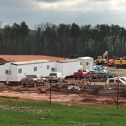 The new Pickens County jail is on pace to open by Spring