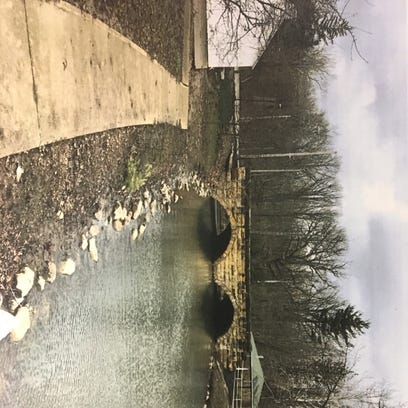 A bridge over North Lake Park is scheduled for replacement.