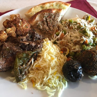 Al Rayan Restaurant is an extension of the market,