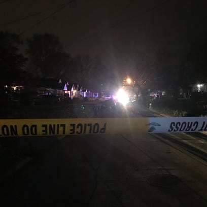 Scene of a shooting in the 400 block of North 42nd