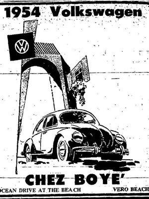 Press-Journal Ad May 20, 1954