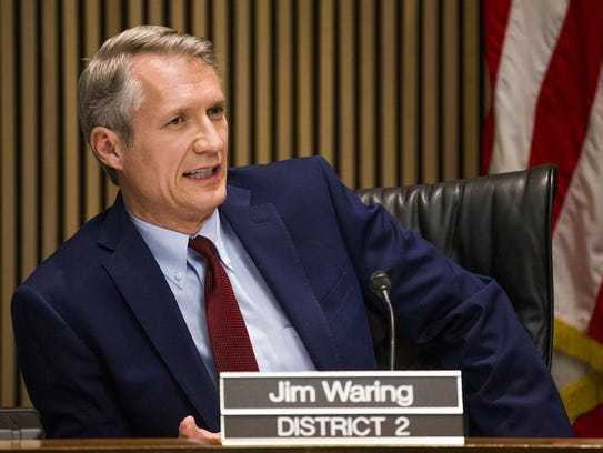 Phoenix City Councilman Jim Waring has pushed for consolidated