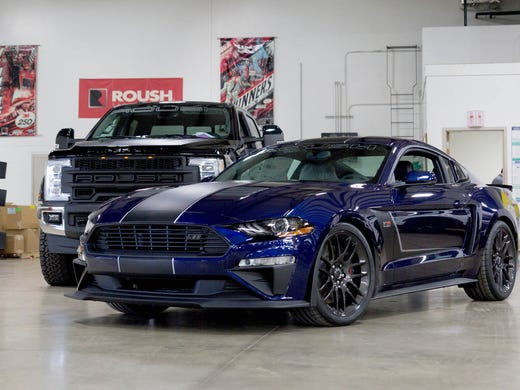 The 2018 Roush Jackhammer Mustang Is Lowered 1 5 In