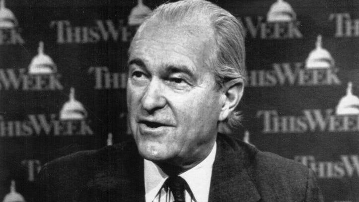 Former CIA director Richard Helms.