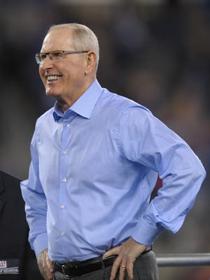 Former Giants coach Tom Coughlin has been named the Jacksonville Jaguars' vice president of football operations.