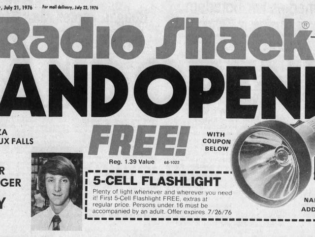 Looking Back: Radio Shack soared, with several stores in