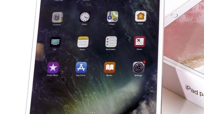 An iPad.