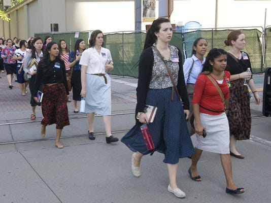 Mormon Women Dress Slacks