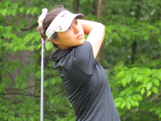 Fort Lee junior Sun Hwang was the only girl to qualify