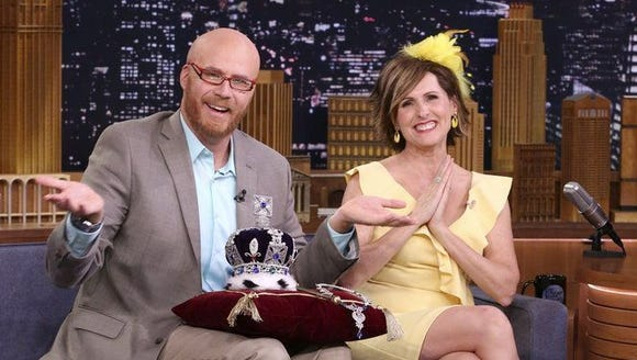 Will Ferrell and Molly Shannon appear on 'The Tonight