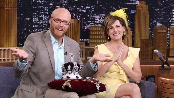 Will Ferrell and Molly Shannon appear on 'The Tonight Show' in character as Cord and Tish.
