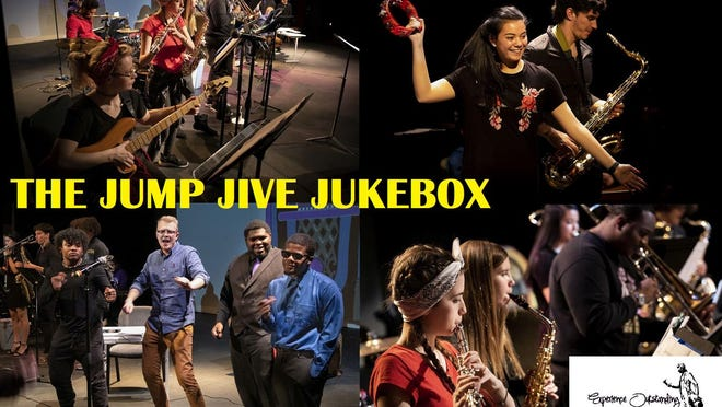 """The show, """"The Jump Jive Jukebox"""" used the story of a shady talent agency called $tar Farm to present each student's original composition. That complete show was recorded by students from the college's Radio, TV and New Media program."""