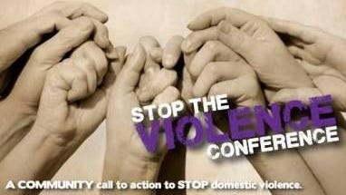 Stop The Violence conference logo