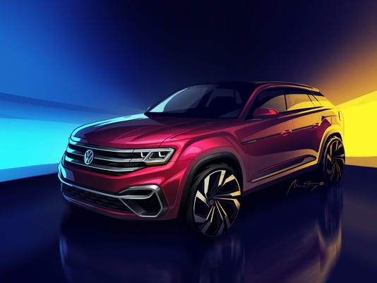 Volkswagen To Make New SUV Based On Atlas At Chattanooga Tennessee - Car show chattanooga 2018