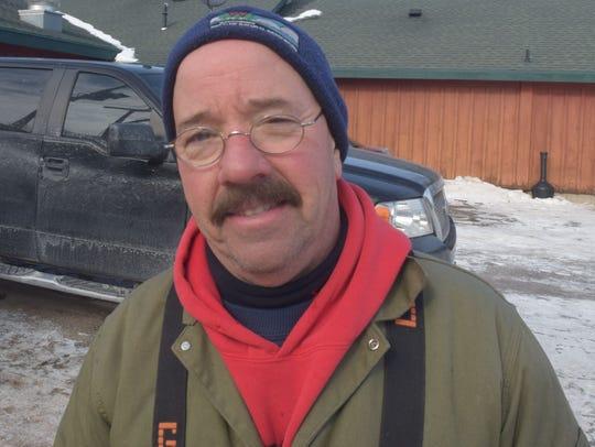 Tim Kroeff, DNR Fisheries Technician.