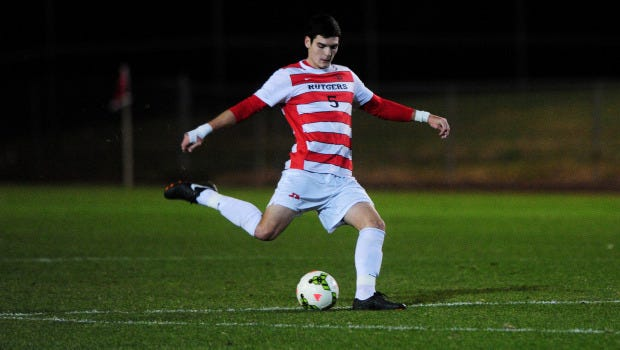 Rutgers men's soccer star Mitchell Taintor and teammate Mitch Lurie were taken in the MLS SuperDraft.