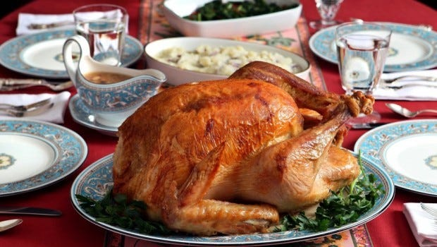 Traditional Thanksgiving Day meals are about more than the food.