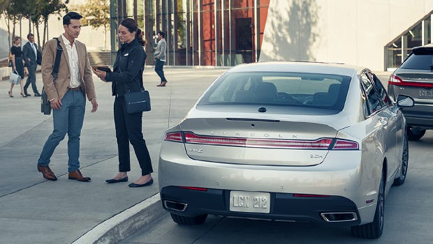 At the appointed time, after being notified through your smart phone that the loaner vehicle is on its way to your location, a loaner Lincoln vehicle is dropped off at either your home, place of business, a doctor's office, a mall or almost any other location you request.