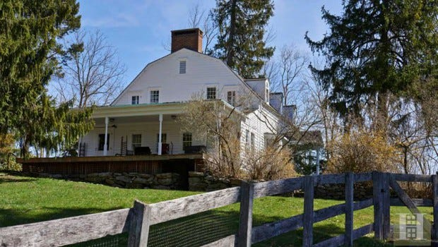 Timothy Hutton's Putnam County home