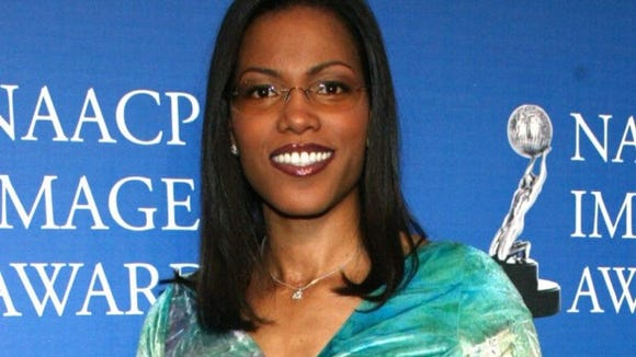 Ilyasah Shabazz arrives at the NAACP Awards in 2003.
