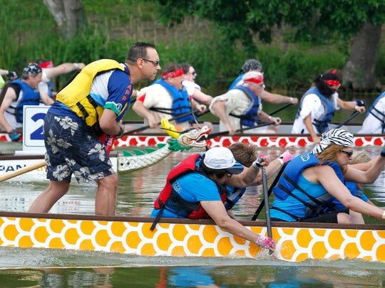 Dragon-boat paddlers hit the water this weekend for