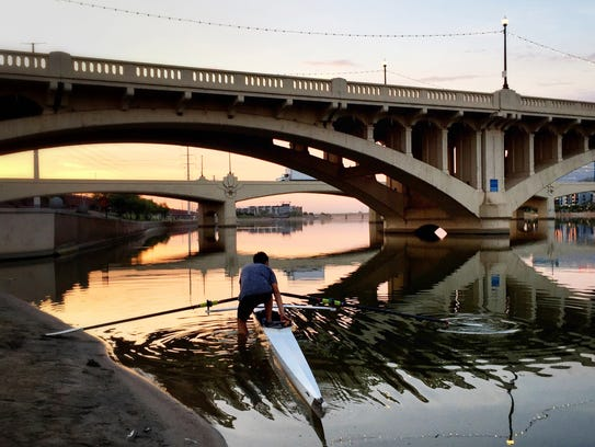 Tempe Town Lake is one of the most visited tourist