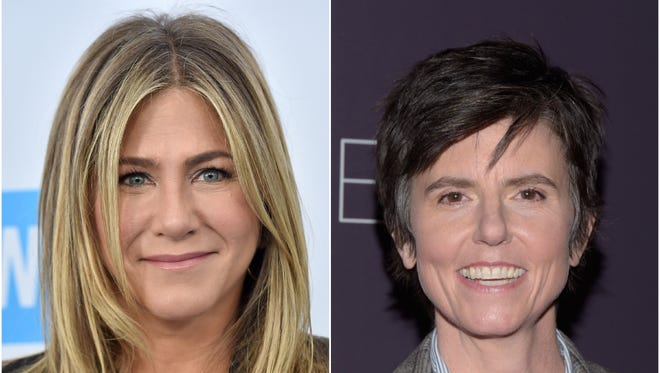 Jennifer Aniston and Tig Notaro will play the first same-sex couple to occupy the White House in the Netflix TV movie 'First Ladies.'