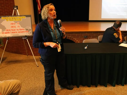 York County Coroner Pam Gay has worked with a task force to address the heroin epidemic. Her office is dealing with a sudden uptick in overdoses.