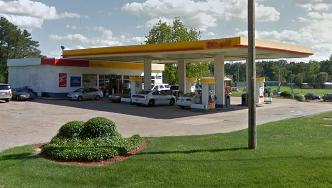 Shell gas station on Watkins Drive in Jackson, Miss.