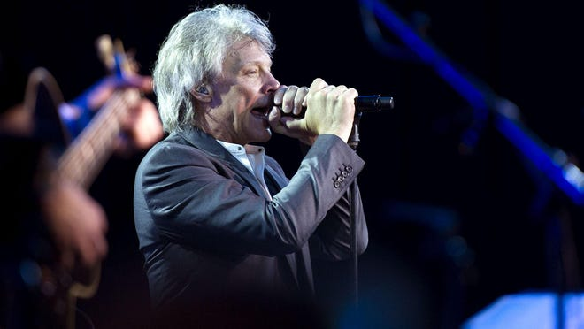 Jon Bon Jovi performed during an Everglades Foundation dinner dance at The Breakers in Palm Beach in February 2019. The rocker's new custom home at 230 N. Ocean Blvd. in Palm Beach sold Friday for a reported $19.847 million, the same day that his ownership company bought a Palm Beach oceanfront estate for $43 million.